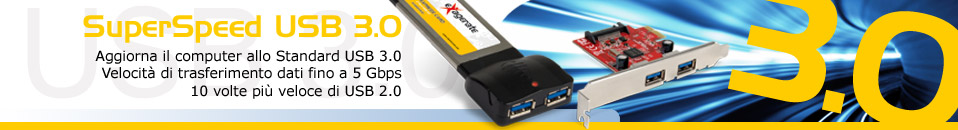 Express card e PCI Express Card USB 3.0