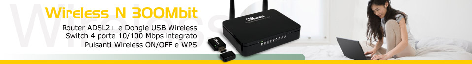 ADSL2+ Wireless Kit 300