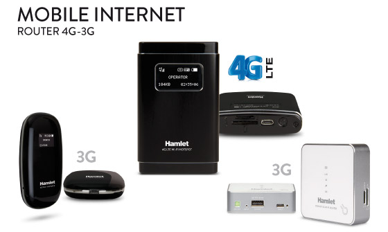 3G/4G Wi-Fi Routers